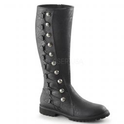 Costume - Mens Gotham boots with buttons